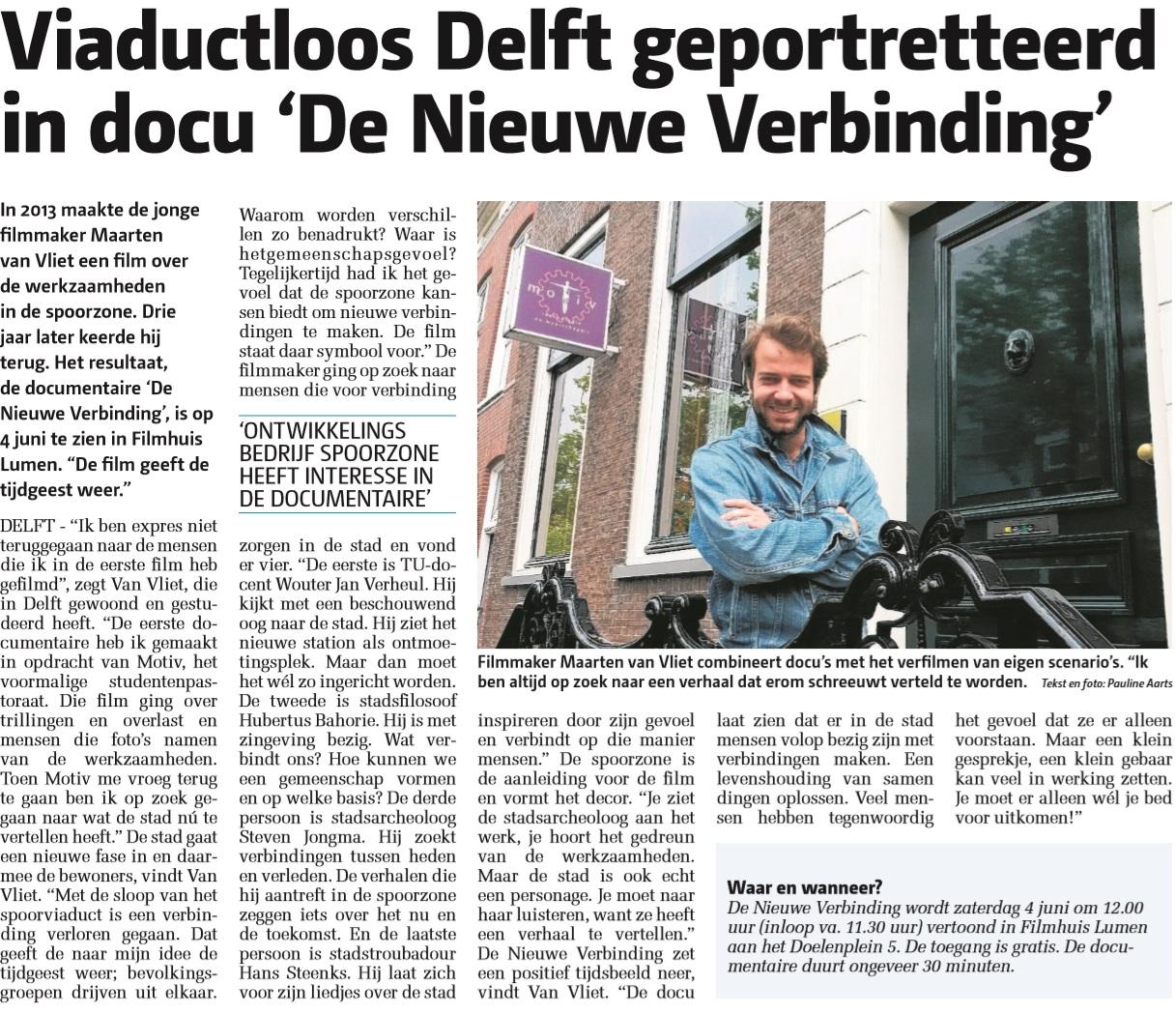 Artikel Delftse Post