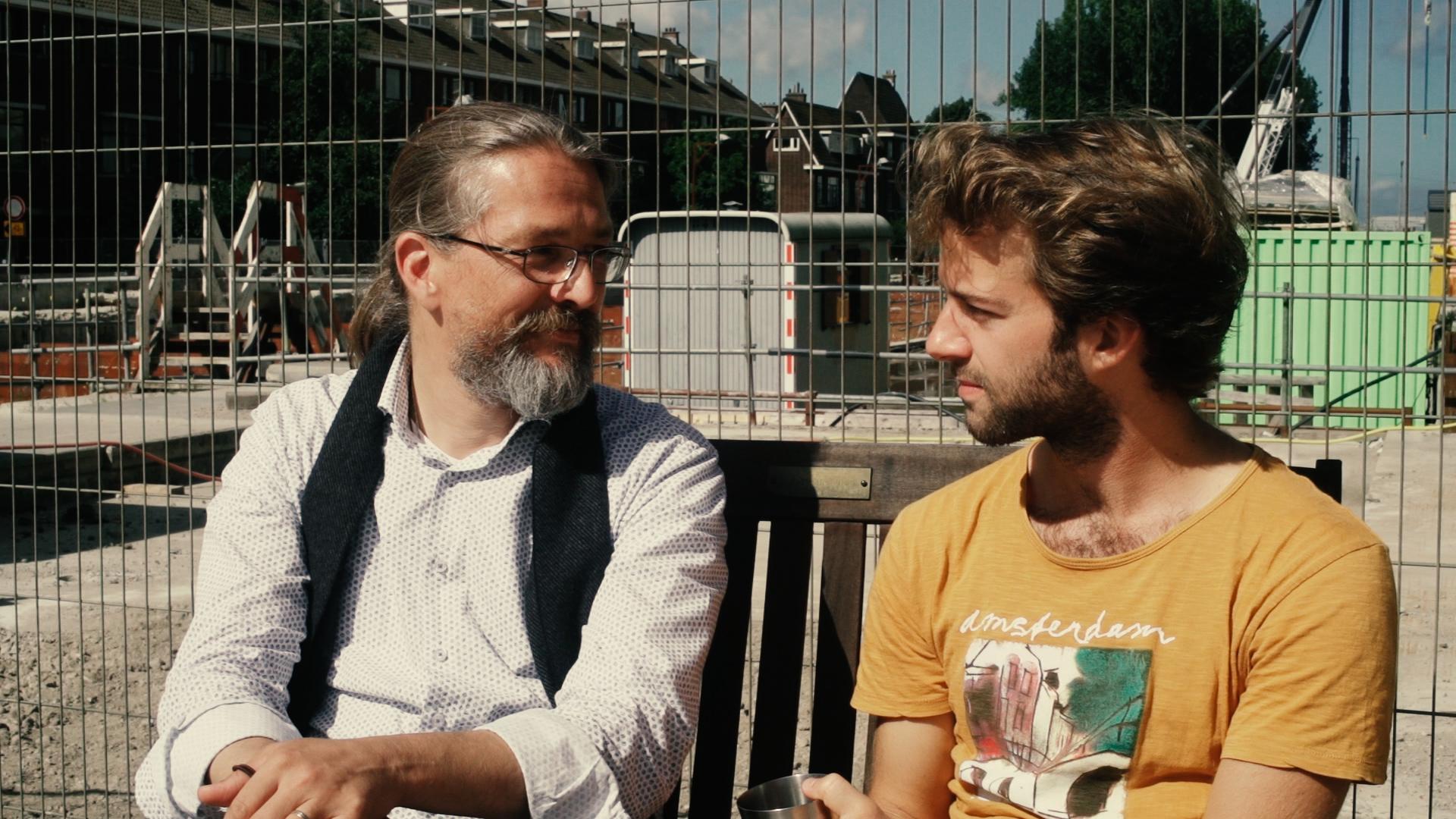 Hubertus Bahorie en Maarten Alexander